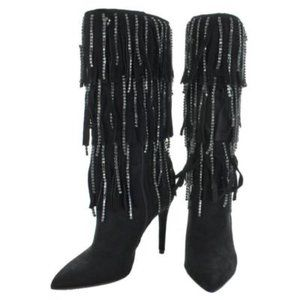 Jessica Simpson Linko Faux Suede Dressy Boots.New!